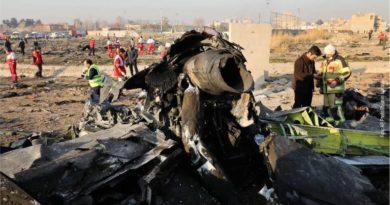 Irã confirma ter disparado 2 mísseis em avião ucraniano