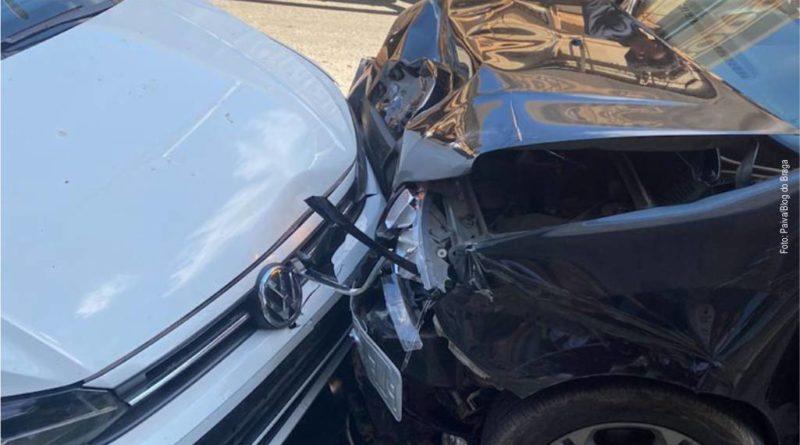 Mulher passa mal ao volante e causa acidente em Barreiras