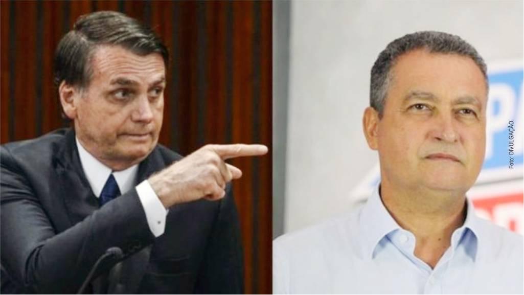 Bolsonaro rebate Rui Costa e cogita 'execução sumária' de miliciano