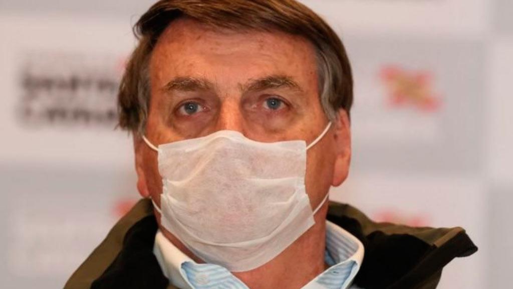 Bolsonaro testa positivo para o novo coronavírus