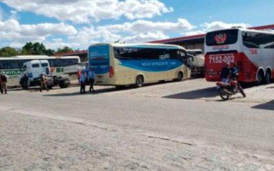 Transporte intermunicipal de 90% dos municípios baianos suspensos, veja lista