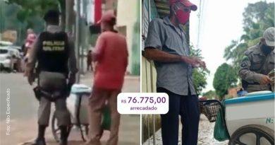 Vaquinha da VOAA arrecada mais de R$ 76 mil para vendedor de picolé que chorou por não vender nada